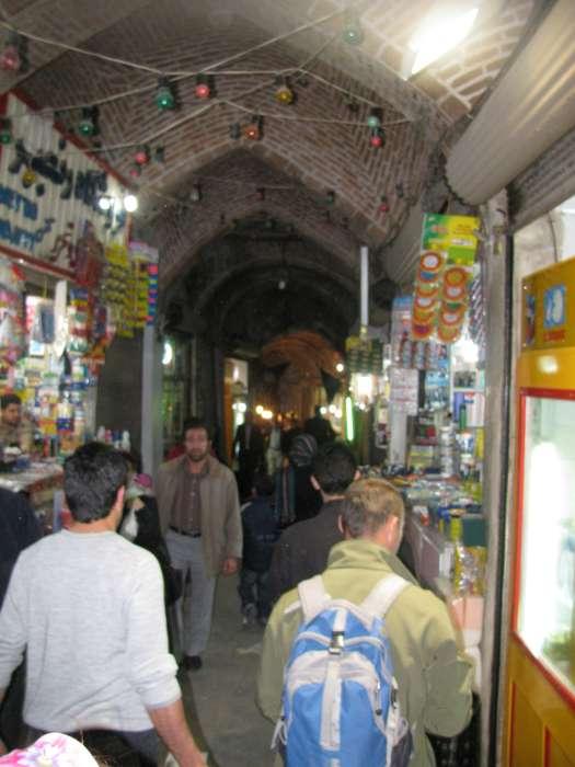 De bazaar van Tabriz