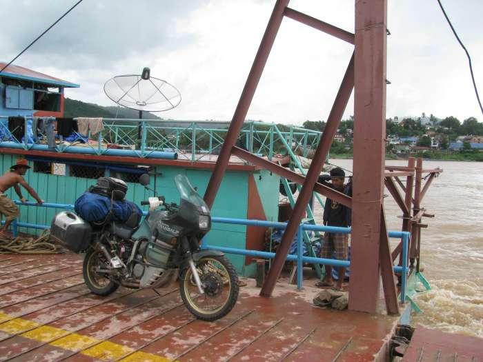 Tripje over de Mekong Rivier